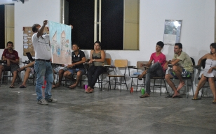 Novos/as integrantes do Irpaa estudam a proposta de ATER trabalhada pela entidade