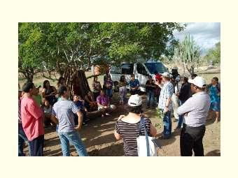 Encontro promove intercâmbio entre agricultores/as de Juazeiro e visitantes internacionais