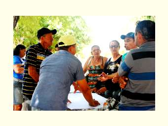 Agricultores e agricultoras avaliam a assessoria de Ater em suas comunidades