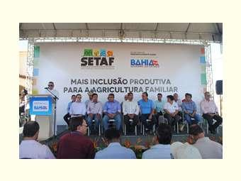 Sertão do São Francisco recebe primeiro Setaf do estado da Bahia
