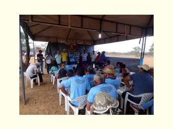 Comunidade de Curaçá realiza encontro de produtores/as agropecuaristas familiares