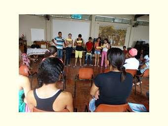 Jovens discutem cidadania e políticas públicas em Campo Alegre de Lourdes