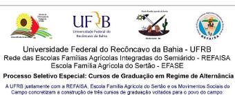 UFRB está com inscrições abertas para cursos de graduação de Educação do Campo e  Tecnólogo em Agroecologia para os povos do campo