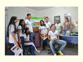Estudantes de Santa Filomena conhecem o Irpaa e debatem a Convivência com Semiárido