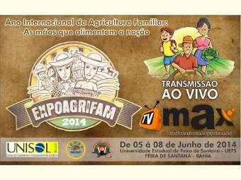 Começa hoje a 2ª Exposição Estadual da Agricultura Familiar