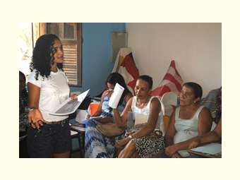 Mulheres se reúnem em encontro de formação no interior de Curaçá