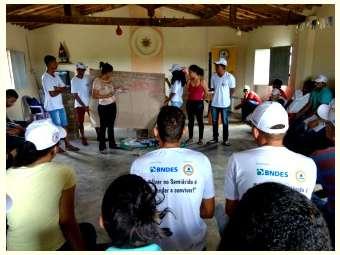 Jovens de Pilão Arcado debatem produção e organização no campo