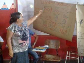 Famílias de Sento Sé se preparam para gerir a água para a produção