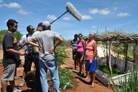 Globo Ecologia grava reportagem sobre Convivência com o Semiárido