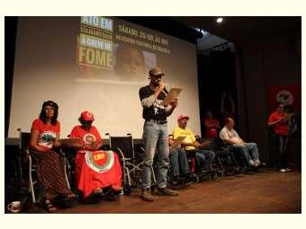 Com certeza de dever cumprido, ativistas encerraram greve de fome
