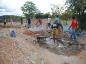 Irpaa realiza curso de pedreiros para cisternas-calçadão do P1+2