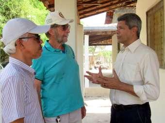 Secretário de Desenvolvimento Rural realiza visita institucional ao Irpaa