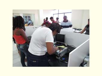 Jovens participam de formação em Informática para atuar em Telecentros nas Comunidades rurais