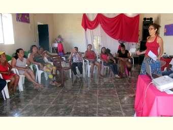 Ater Sustentabilidade promove formações para elaboração de Plano de Ação com mulheres