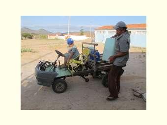Em Uauá, seca estimula agricultor a desenvolver tecnologias  para ajudar na criação de animais