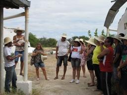 Educadores/as do Salitre visitam Centro de Formação do Irpaa e discutem a prática da educação contextualizada à região