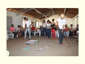 Funda��o Santa �ngela participa de oficina sobre gest�o de �gua na escola