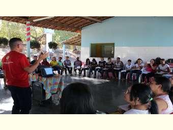 Irpaa discute educação contextualizada e água da escola em Ipiranga (PI)