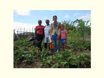 Horta Orgânica contribui para segurança alimentar e geração de renda na comunidade de Riacho Grande