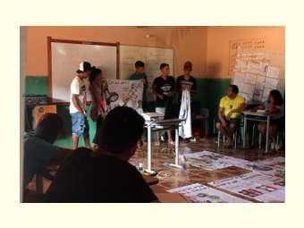 Oficina reforça a comunicação  como elemento de empoderamento da juventude rural