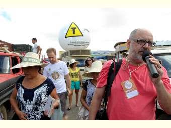 Ato público denuncia riscos do mosquito transgênico para combater a dengue em Juazeiro (BA)