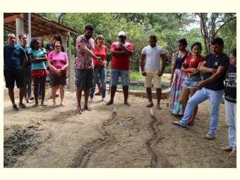Representantes de organizações de Sergipe e Alagoas estudam o clima semiárido em Juazeiro (BA)