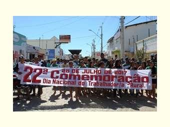 Dia do trabalhador e trabalhadora rural em Remanso é marcado por momentos de reflexão e esperança