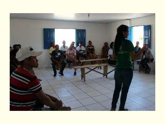 Comunidades de Massaroca discutem o plano de desenvolvimento do projeto Pró-Semiárido