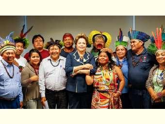 Carta de Dilma aos Povos Indígenas do Brasil