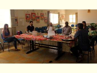 """""""Hoje eu apreendi que o importante é conviver e não combater a seca"""", diz diretora de organização não governamental de Angola sobre o Irpaa"""