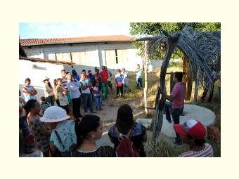 Intercâmbio de experiências reúne agricultores/as e técnicos/as da região de Senhor do Bonfim
