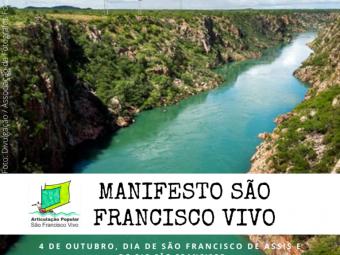 Manifesto São Francisco Vivo