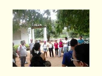 Estudantes do IF- Senhor do Bonfim visitam o Centro de Formação Dom José Rodrigues em Juazeiro