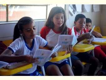 Escola do Rodeadouro sedia atividade de incentivo à leitura contextualizada ao Semiárido