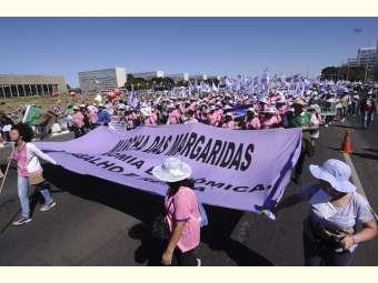 Marcha das Margaridas 2019 espera reunir mais de 100 mil mulheres em Brasília