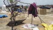 Famílias do acampamento Abril Vermelho no projeto Salitre continuam acampadas na beira da estrada
