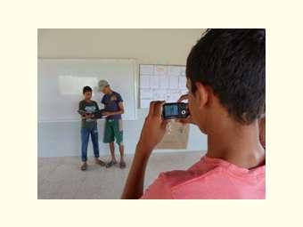 Estudantes da EFA de Sobradinho participam de oficina de comunicação