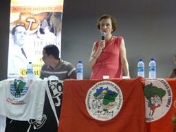 01 de maio: Movimentos Sociais recebem Anita Prestes em Petrolina (PE)