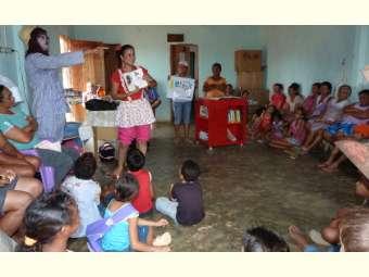 Mais uma biblioteca móvel é entregue para uma comunidade rural do Território Sertão do São Francisco