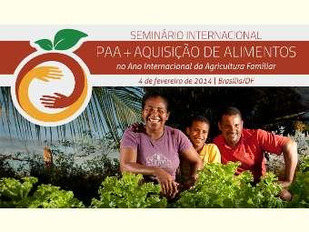 Seminário Internacional celebra 10 anos do PAA