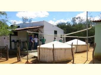 Cooperativa recebe consultoria da Codevasf para tratamento de água da chuva