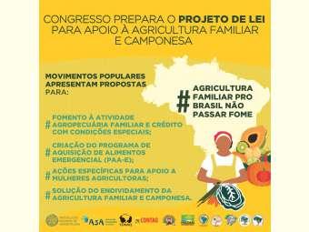 Câmara prepara PL para apoio a agricultura familiar na pandemia