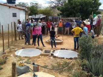 Recuperação ambiental e saneamento rural são temas de intercâmbio em Sento Sé