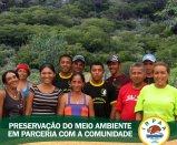 Comunidade rural participa de atividades de preservação do meio ambiente