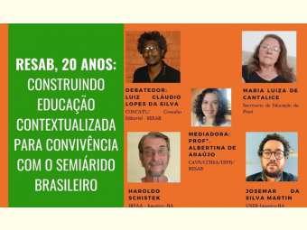 Rede de Educação do Semiárido brasileiro celebra 20 anos em defesa de políticas educacionais contextualizadas