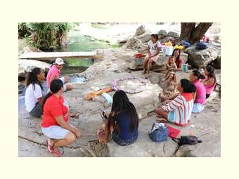 Mulheres do Alto Salitre se reúnem na Cachoeira em Roda de Aprendizagem