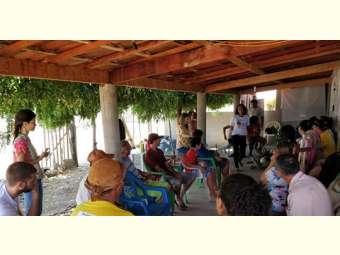 Comunidade de Fundo de Pasto da Cachoeirinha se reúne para uma oficina de mapeamento participativo
