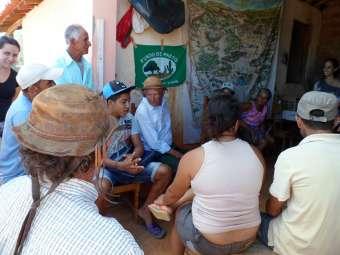 Comunidades tradicionais do Sertão da Bahia discutem como se organizar mediante Lei 12.910/13