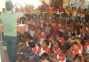 Escolas do Salitre recebem Irpaa e Seadruma para discutir questões ambientais da região