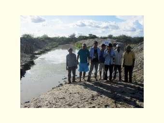 Em Jaguarari, armazenamento de água da chuva possibilita planos para a produção